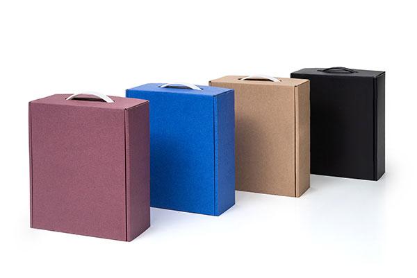 מזוודות קטנות צבעוניות + ידית פלסטיק